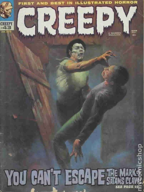 creepy  1964 magazine  comic books
