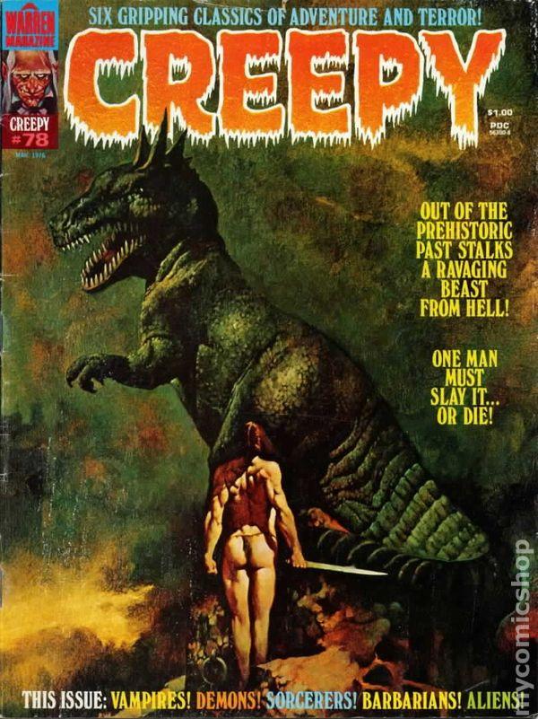 Creepy (1964 Magazine) comic books Magic! Album Cover