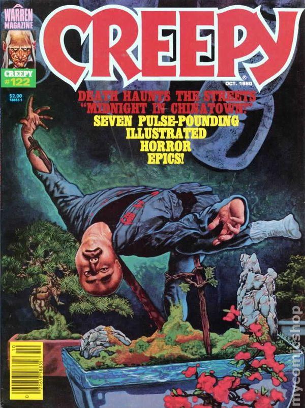 Carmine Bruce >> Creepy (1964 Magazine) comic books