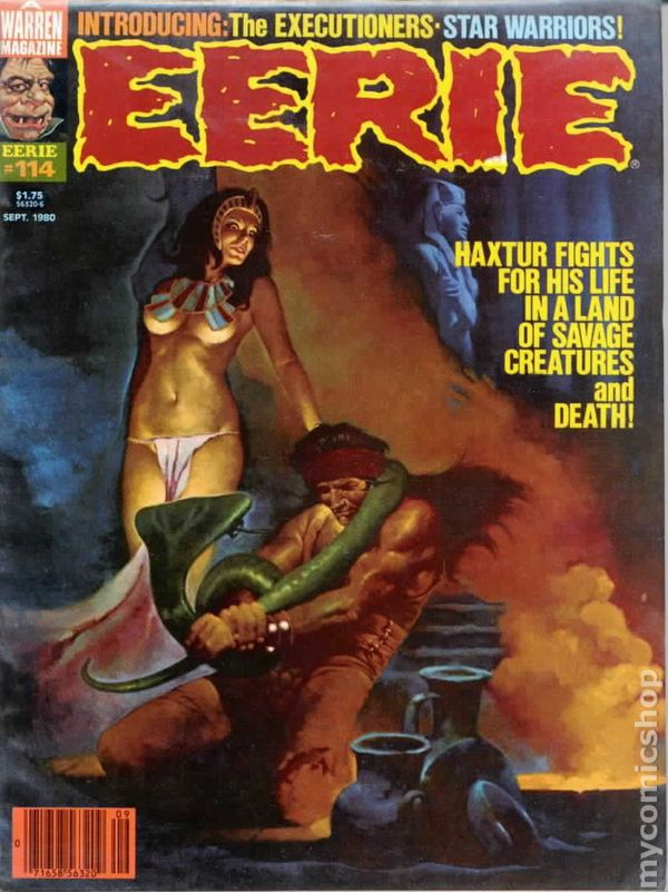Eerie 1966 Warren Magazine Comic Books