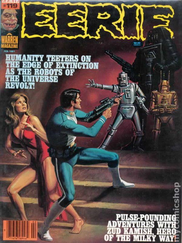 Eerie 1966 Warren Magazine Comic Books
