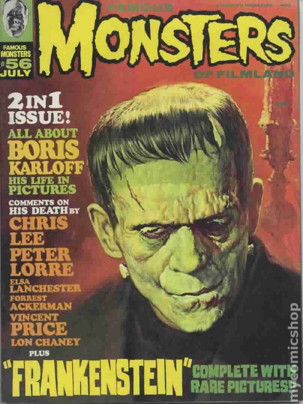 FAMOUS MONSTERS OF FILMLAND 51