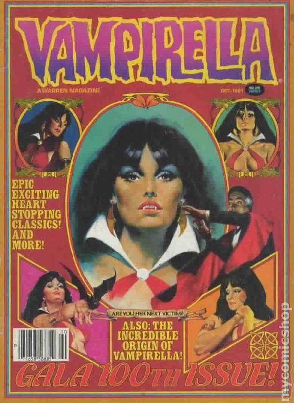 vampirella  1969 magazine  comic books
