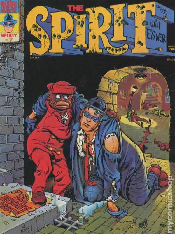 spirit  1974 warren magazine  kitchen sink  comic books