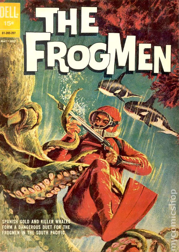 Frogmen 1962 Comic Books