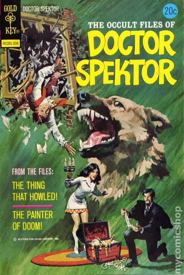 Occult Files of Doctor Spektor (1973 Gold Key) comic books