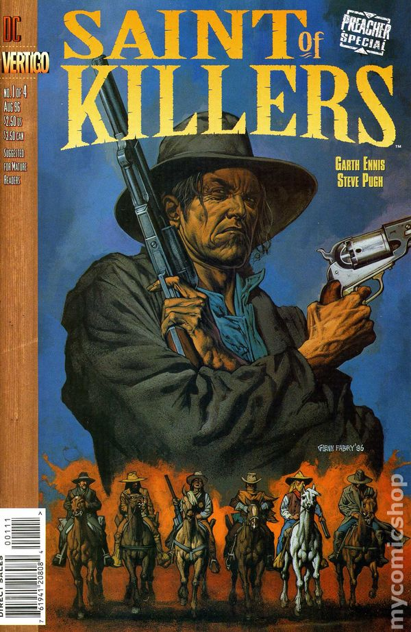Preacher Special Saint of Killers (1996) comic books