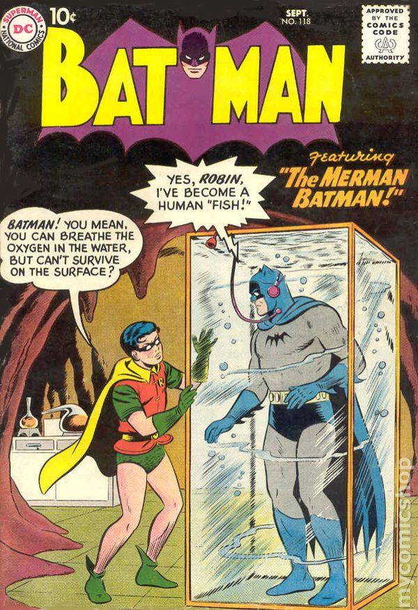 Batman (1940) comic books 1950-1959