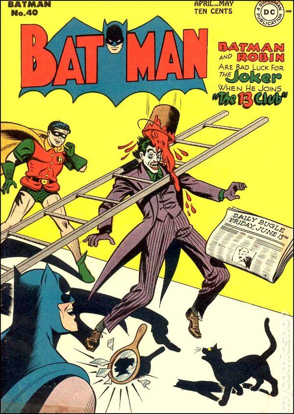 Resultado de imagem para batman 1940 # 40