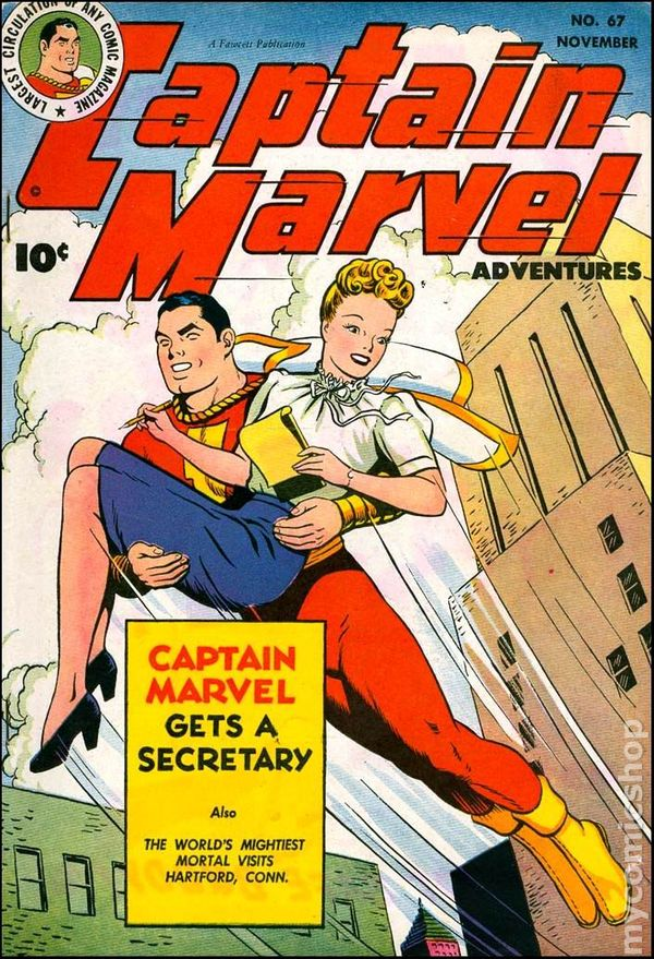 Captain Marvel Adventures #67