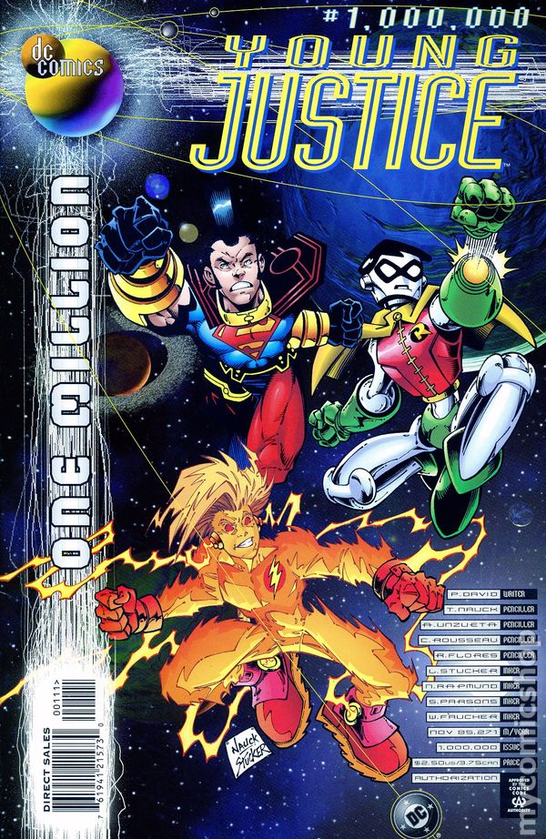 Epic Dvd Front Cover Young Justice One Mill...