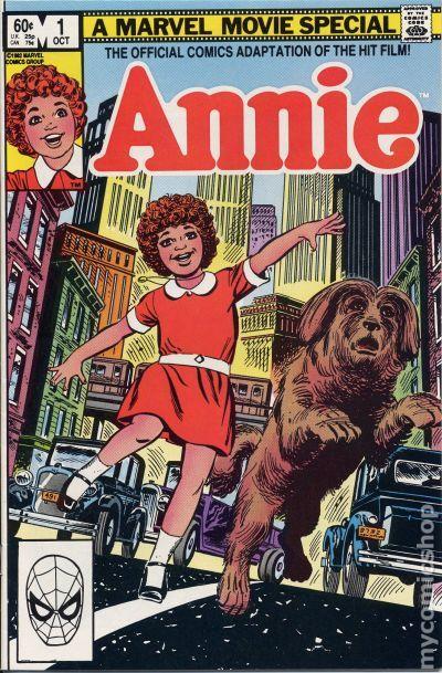 Annie 1982 Comic Books