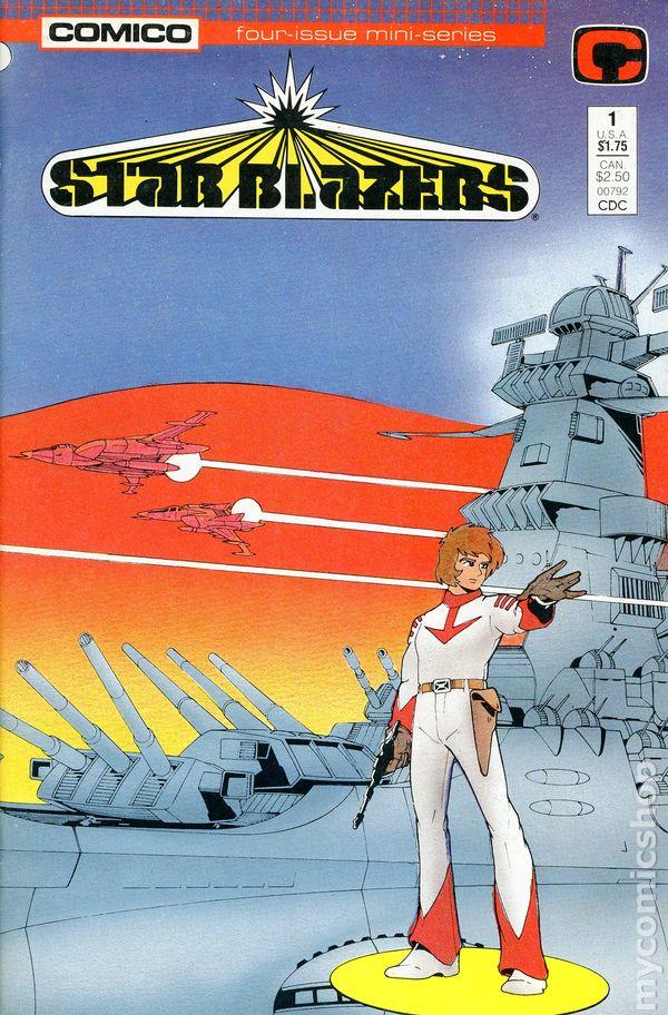 Star Blazers (1987 Comico) Comic Books