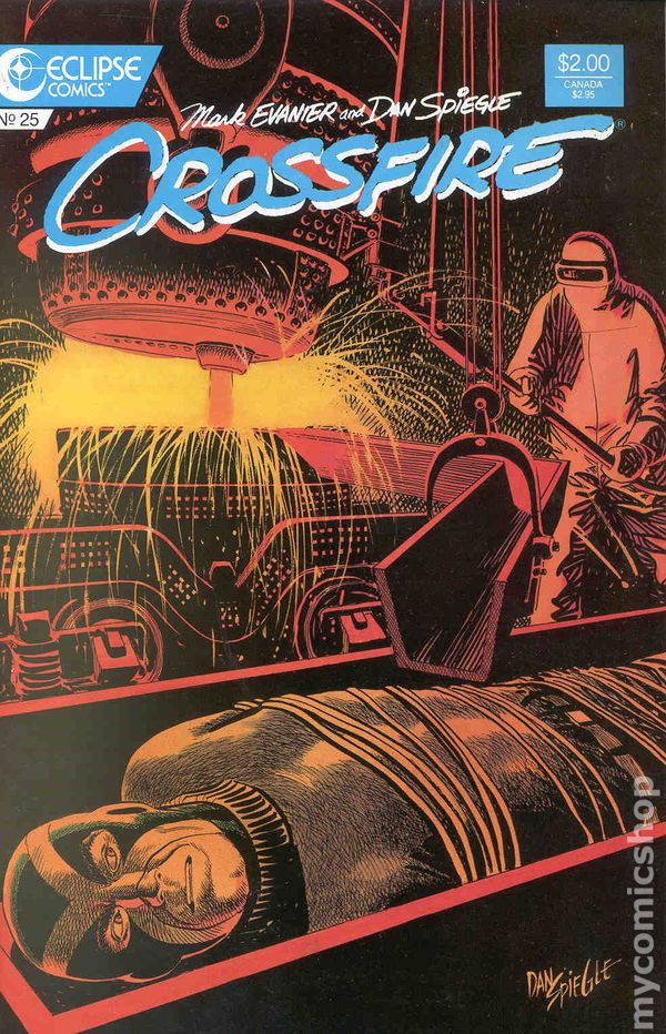 mark evanier crossfire essays Mark stephen evanier (/ ɛ v ə n ɪər / born march 2, 1952) is an american comic book essay on my favorite hobby cricket and television writer, particularly known.