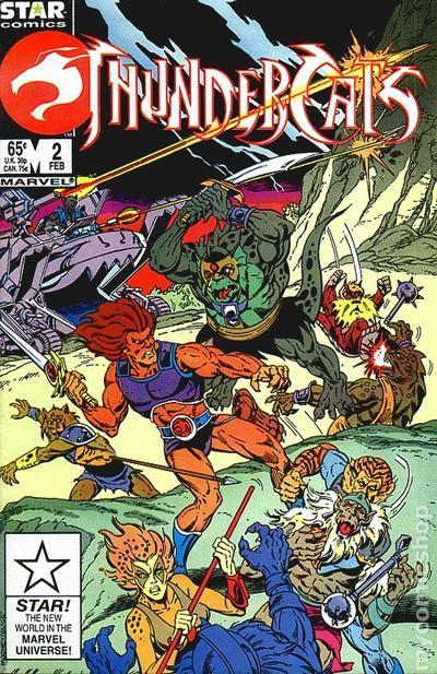 thundercats  1985 1st series marvel  comic books