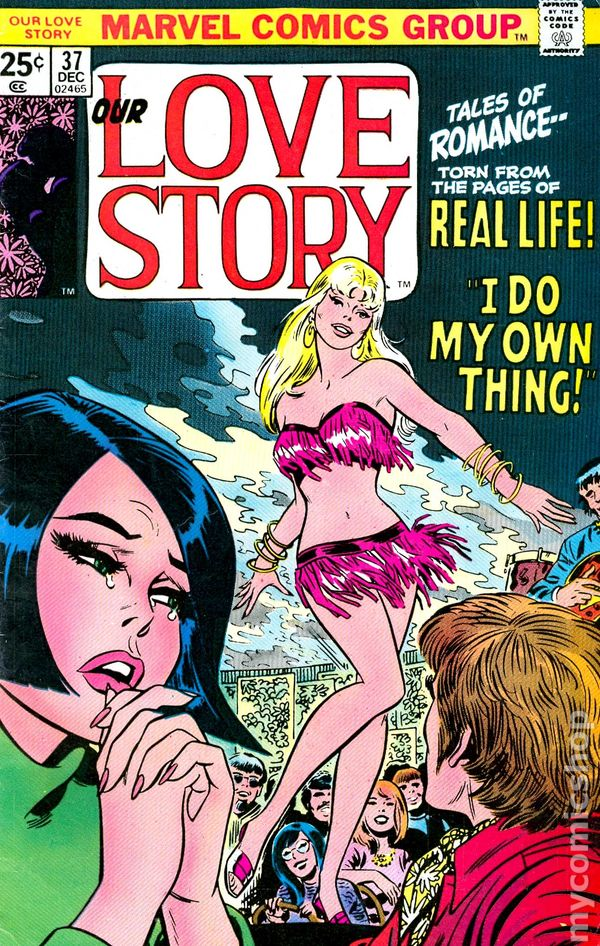 Our Love Story (1969) Comic Books 1970-1979