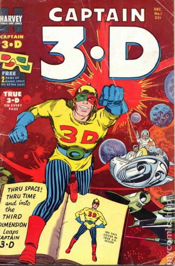 3d комиксы