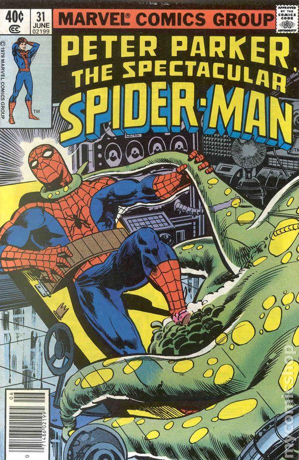 spectacular spiderman 1976 1st series comic books