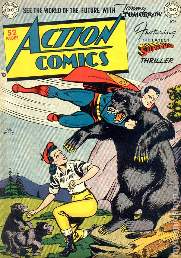 Superman 1950 Comic Action Comics (1938 DC...