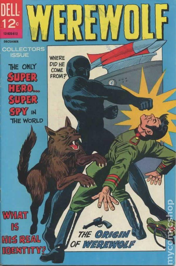 Werewolf 1966 Dell Comic Books