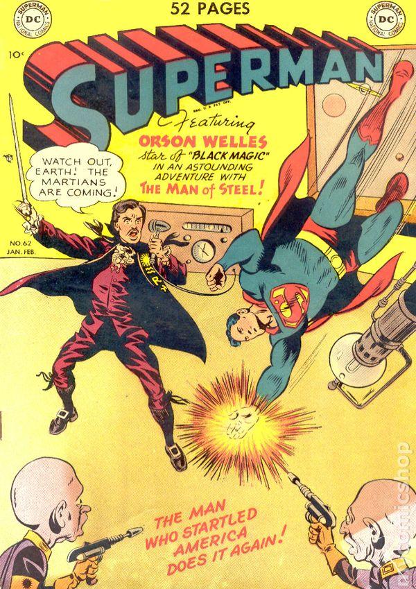 Superman 1950 Comic Superman (1939 1st Ser...
