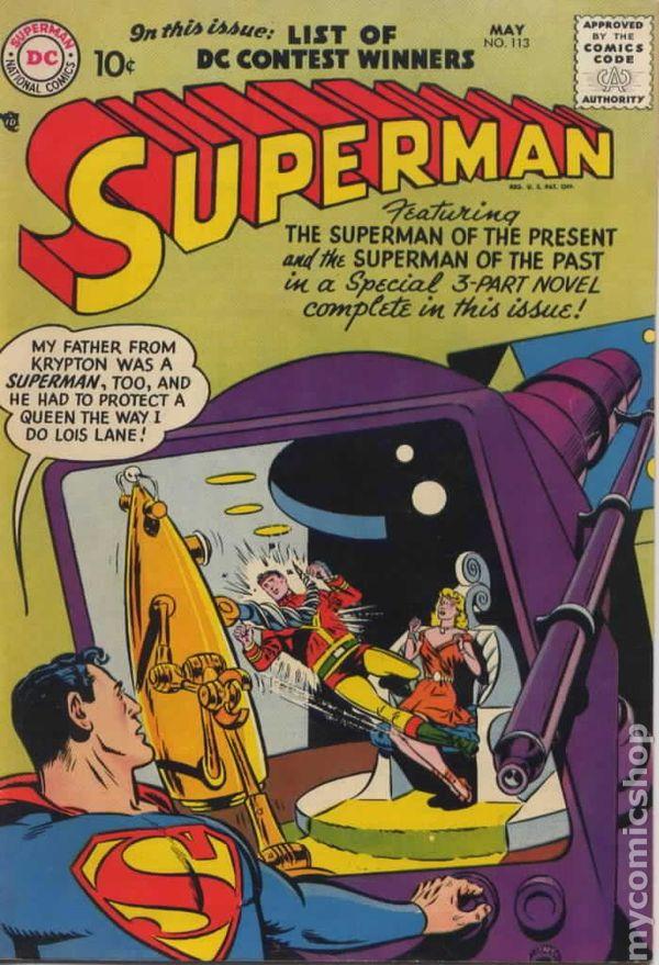 Superman 1939 1st series comic books 1956 1969 for Bureau 39 superman