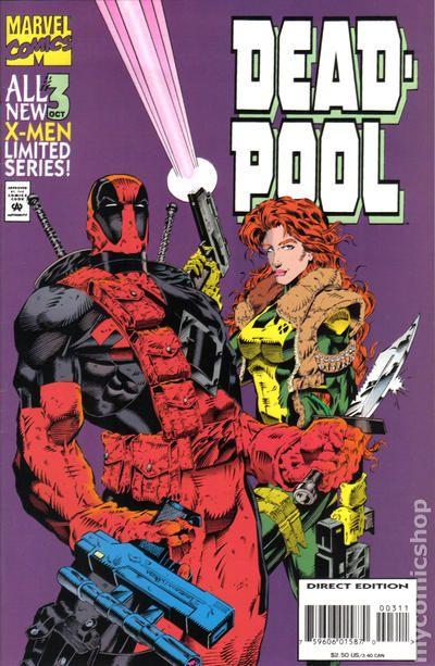 Deadpool comic books issue 3 for Deadpool show