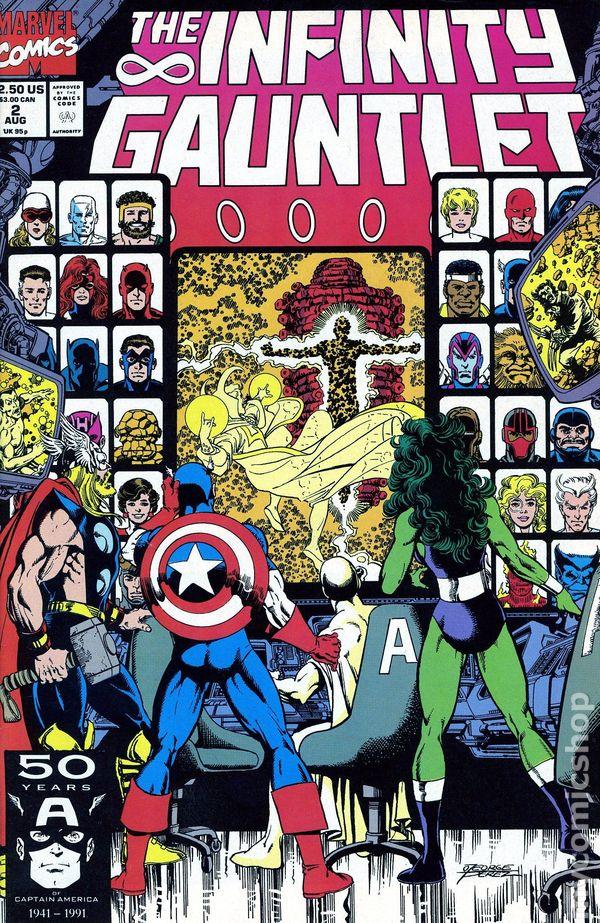 Infinity Gauntlet 1991 Comic Books