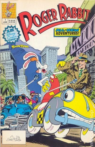 roger rabbit 1990 comic books