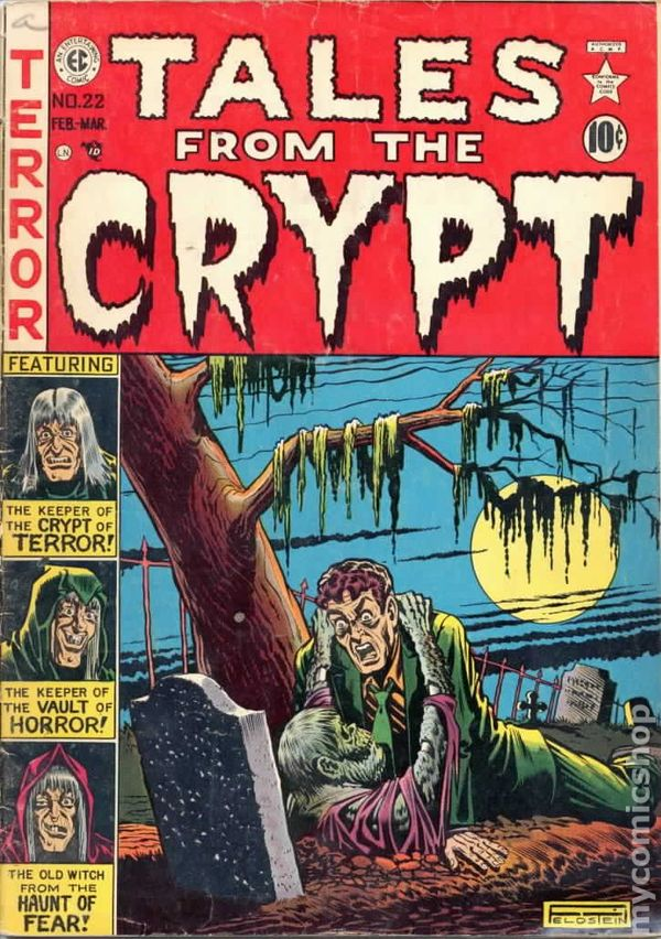 Tales from the crypt 1950 e c comics comic books for Classic house books