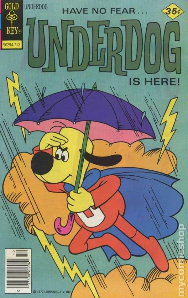 underdog  1975 gold key  comic books
