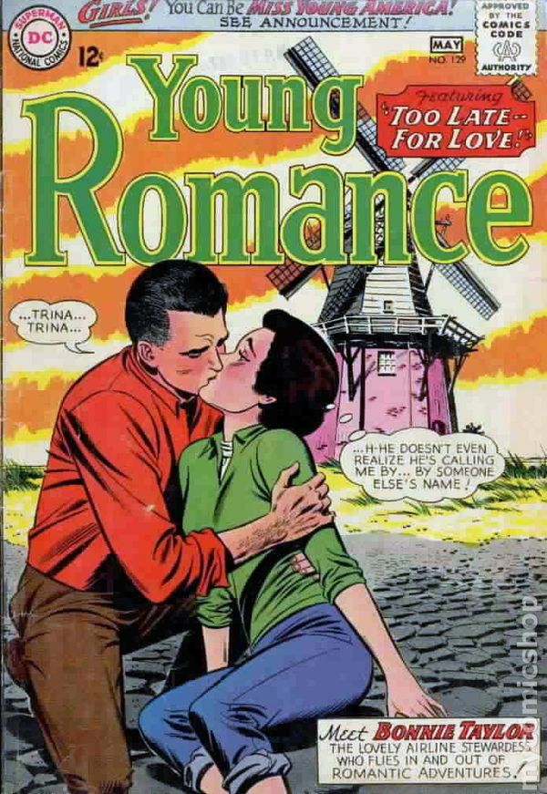 young romance comics  1963