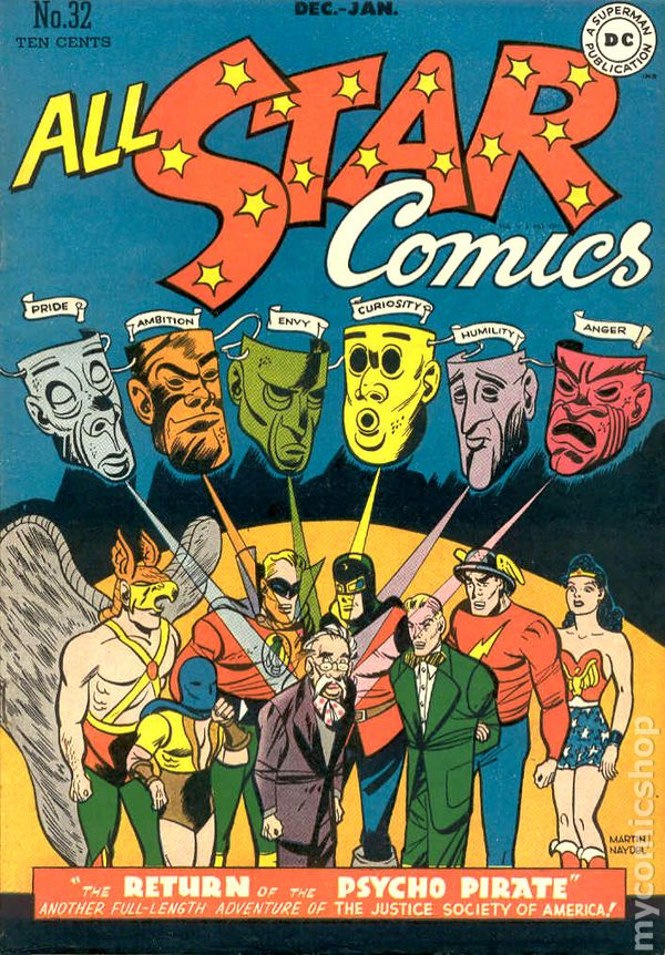 all star comics  1940