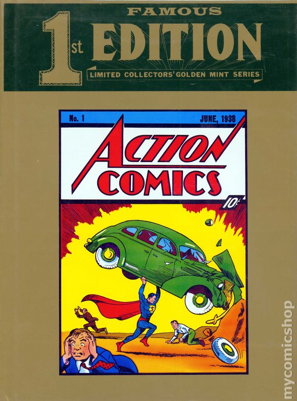 Famous First Edition Action Comics DC Treasury Edition #C-26H