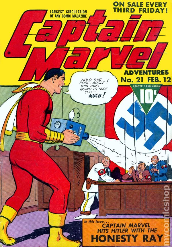 Captain Marvel Adventures 1941 Comic Books