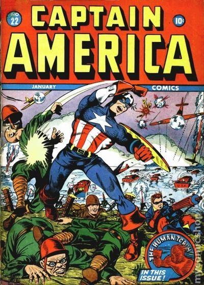 captain america comics 1941 golden age comic books