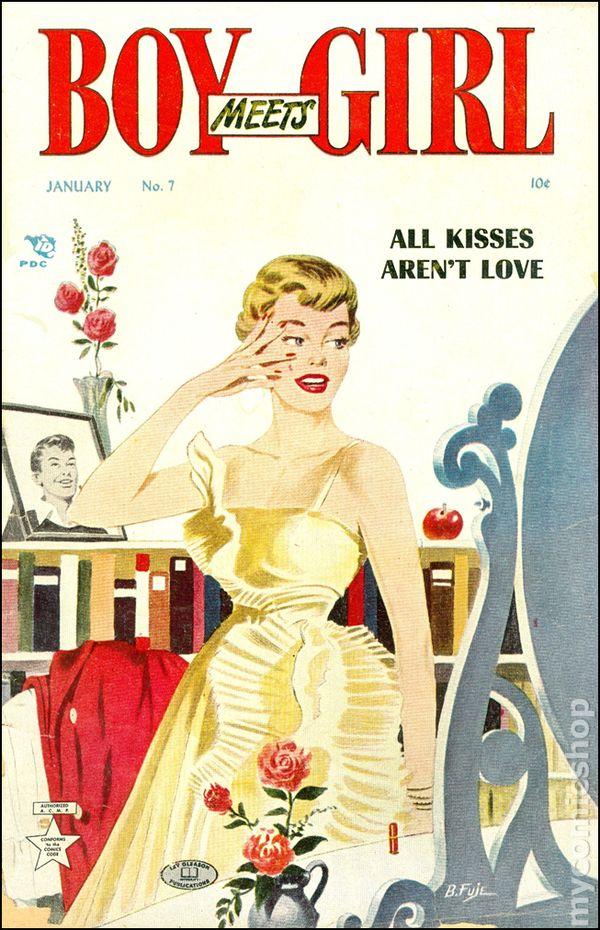 boy meets girl  1950  comic books