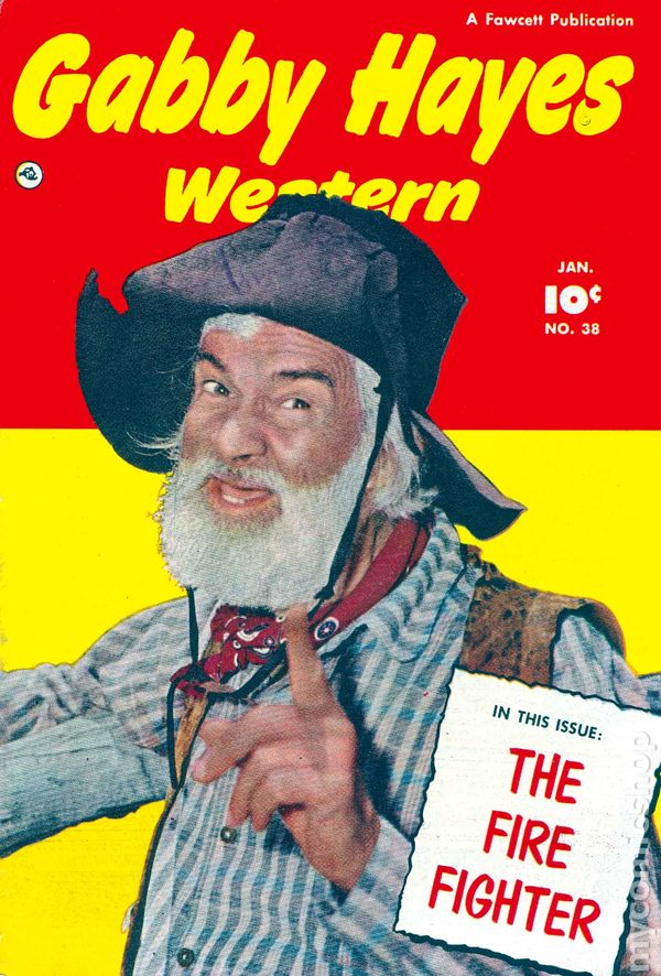 Gabby hayes western 1948 fawcett comic books for Gabby hayes