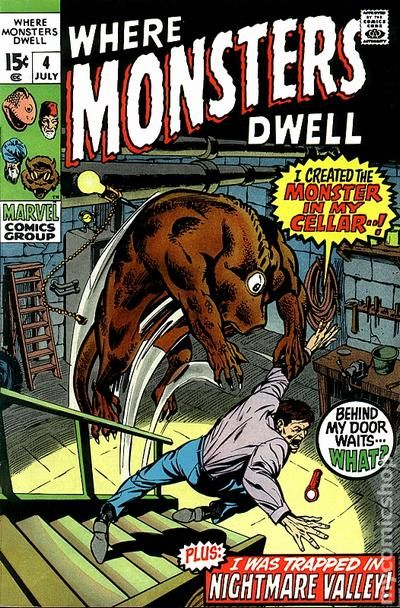Where Monsters Dwell 1970 Comic Books