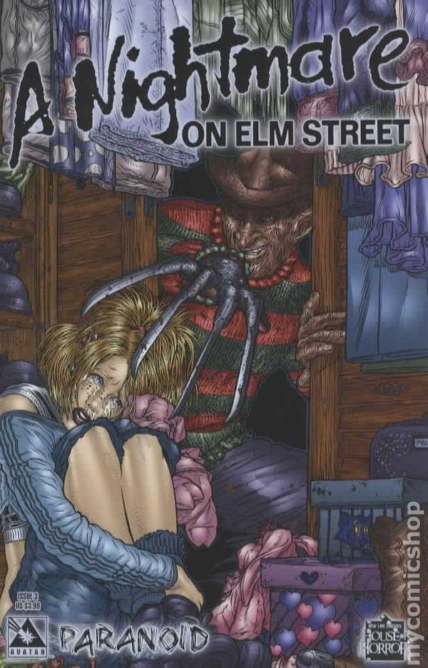Nightmare on Elm Street Paranoid (2005) comic books