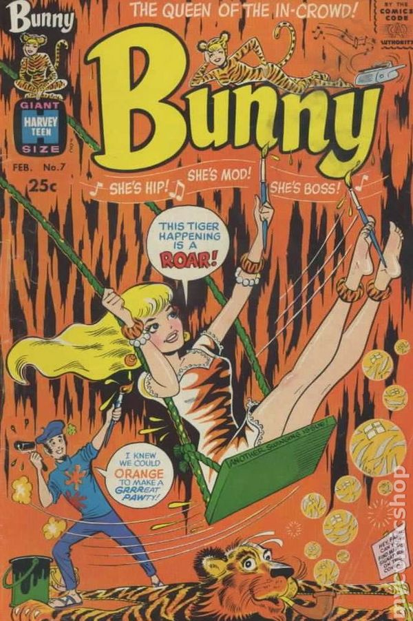Bunny 1966 Comic Books