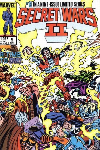 Secret Wars II (1985) comic books Reality Steve