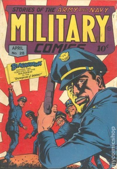 Jack Cole >> Military Comics (1941) comic books