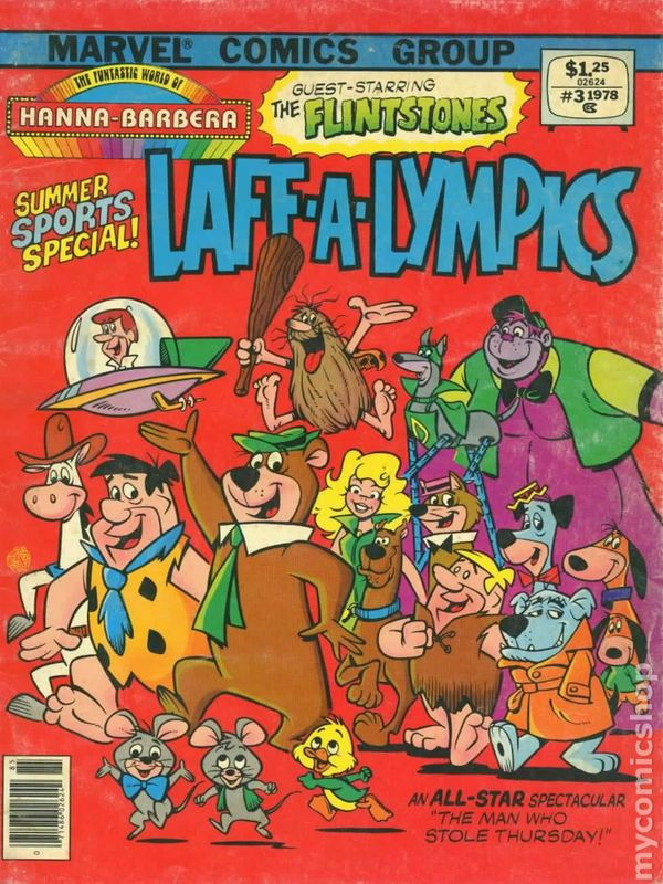 Funtastic World of Hanna Barbera #3