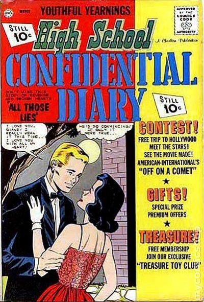 High School Confidential Diary (1960) 11 FN- 5.5