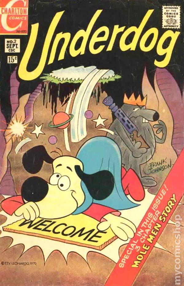 underdog comic books issue 2
