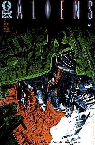 aliens  1988 1st printing  comic books