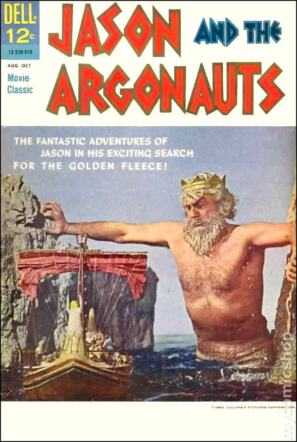 Jason and the Argonauts  1963 Movie Classics  comic booksJason And The Argonauts