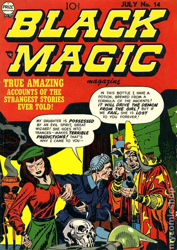 Black Magic 14 - Prize - Mage - Woman - True Amaizing - Magazine.
