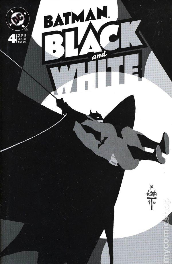 Black N White Book Cover : Batman black and white comic books